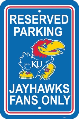 Kansas Plastic Parking Sign (P)