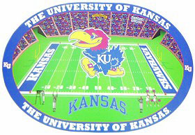 Kansas Jayhawks Set of 4 Placemats