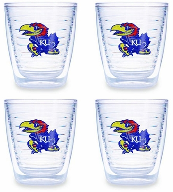 Kansas Set of FOUR 12 oz. Tervis Tumblers