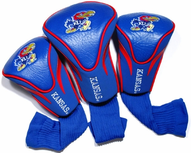 Kansas Set of Three Contour Headcovers