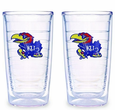 Kansas Set of TWO 16 oz. Tervis Tumblers