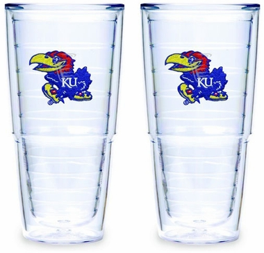Kansas Set of TWO 24 oz. Tervis Tumblers