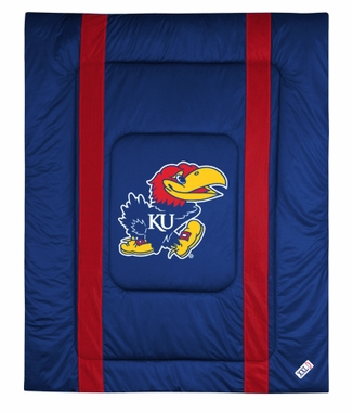 Kansas SIDELINES Jersey Material Comforter