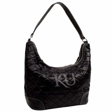 Kansas Sport Noir Quilted Hobo