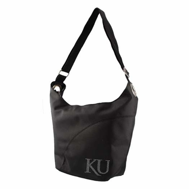 Kansas Sport Noir Sheen Hobo Purse