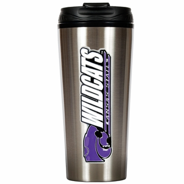 Kansas State 16 oz. Thermo Travel Tumbler