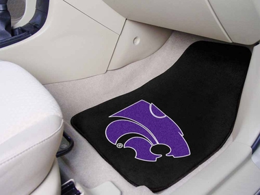 Kansas State 2 Piece Car Mats