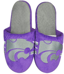 Kansas State 2011 Team Stripe Slide Slippers - X-Large