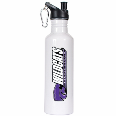Kansas State 26oz Stainless Steel Water Bottle (White)