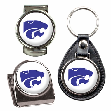 Kansas State 3 Piece Gift Set