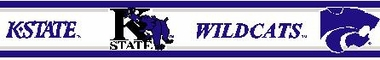 Kansas State 5.5 Inch (Height) Wallpaper Border