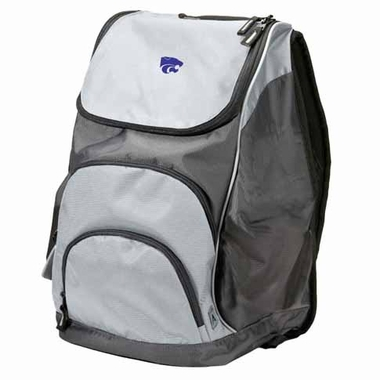 Kansas State Action Backpack (Color: Grey)