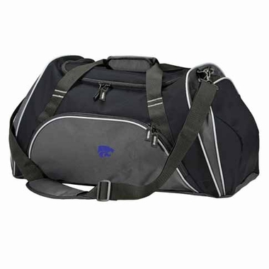 Kansas State Action Duffle (Color: Black)
