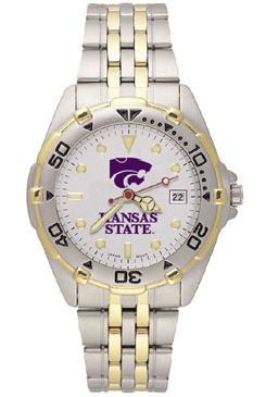 Kansas State All Star Mens (Steel Band) Watch