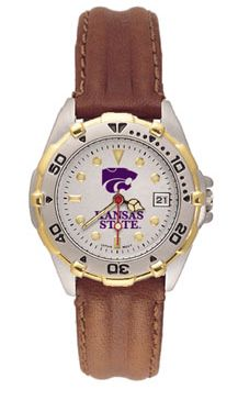 Kansas State All Star Womens (Leather Band) Watch