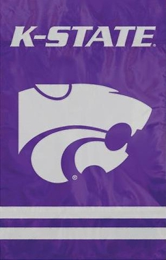 Kansas State Applique Banner Flag