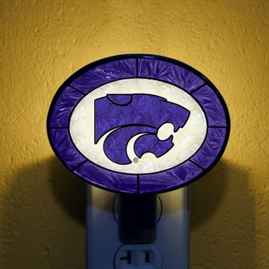 Kansas State Art Glass Night Light