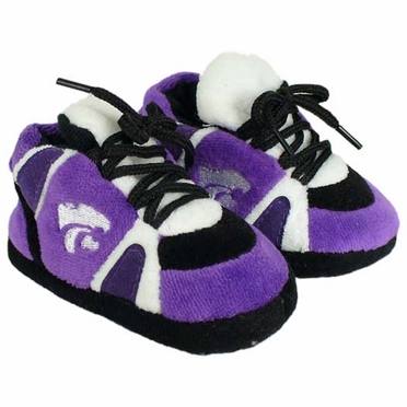 Kansas State Baby Slippers