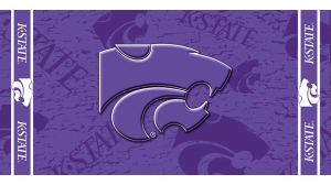 Kansas State Beach Towel