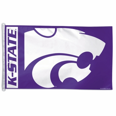 Kansas State Big 3x5 Flag