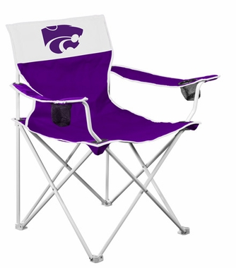 Kansas State Big Boy Adult Folding Logo Chair