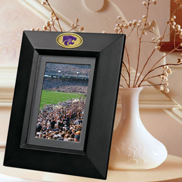 Kansas State BLACK Portrait Picture Frame