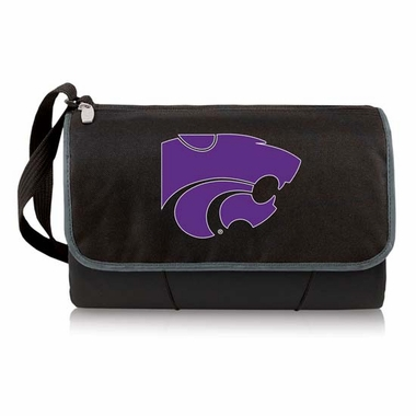 Kansas State Blanket Tote (Black)
