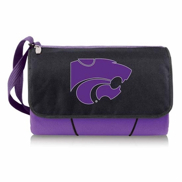 Kansas State Blanket Tote (Purple)