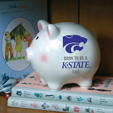 Kansas State (Born to Be) Piggy Bank
