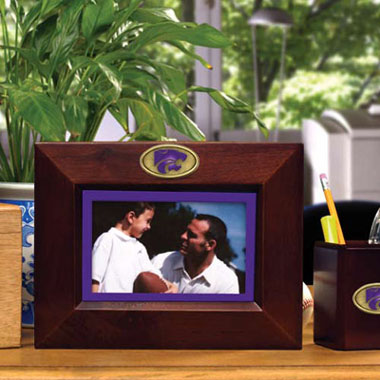Kansas State BROWN Landscape Picture Frame