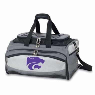 Kansas State Buccaneer Tailgating Embroidered Cooler (Black)