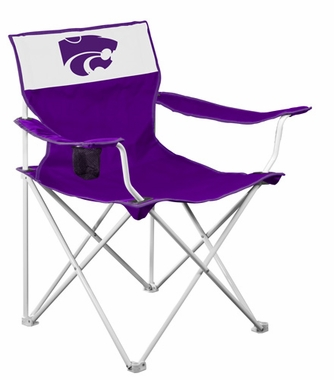 Kansas State Canvas Adult Folding Logo Chair