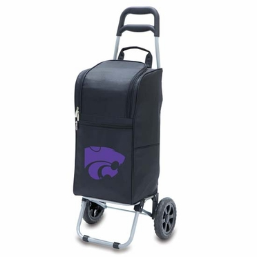Kansas State Cart Cooler (Black)