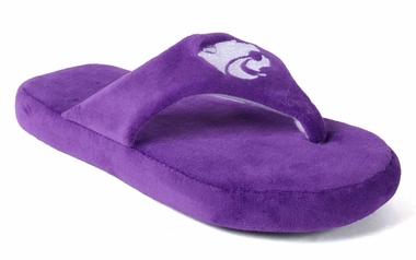 Kansas State Unisex Comfy Flop Slippers