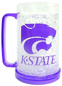 Kansas State Crystal Freezer Mug