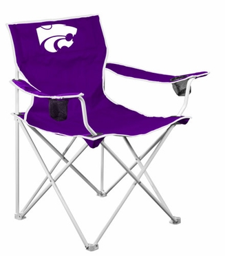 Kansas State Deluxe Adult Folding Logo Chair