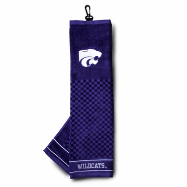 Kansas State Embroidered Golf Towel