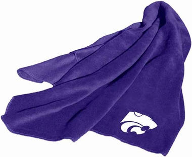 Kansas State Fleece Throw Blanket