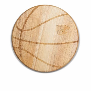 Kansas State Free Throw Cutting Board