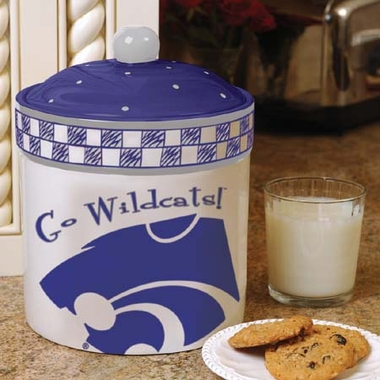 Kansas State Gameday Ceramic Cookie Jar