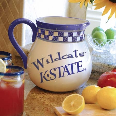Kansas State Gameday Ceramic Pitcher