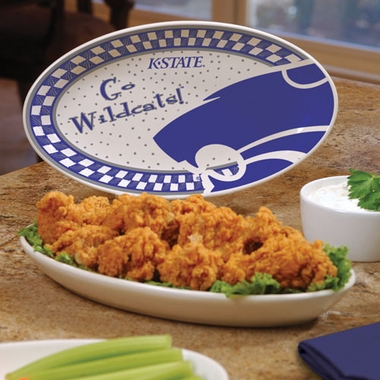 Kansas State Gameday Ceramic Platter