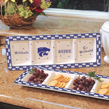 Kansas State Gameday Relish Tray