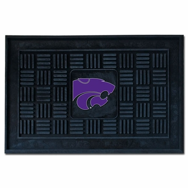 Kansas State Heavy Duty Vinyl Doormat