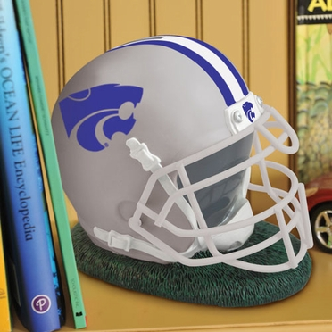 Kansas State Helmet Shaped Bank