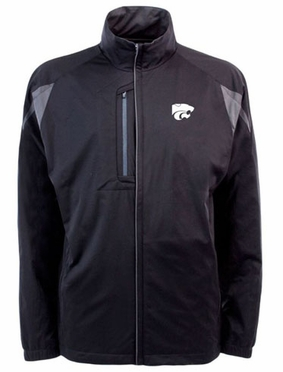 Kansas State Mens Highland Water Resistant Jacket (Team Color: Black)