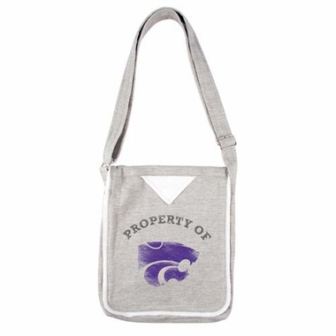 Kansas State Hoodie Crossbody Bag