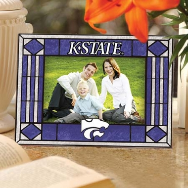 Kansas State Landscape Art Glass Picture Frame