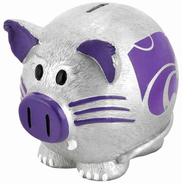 Kansas State Large Thematic Piggy Bank