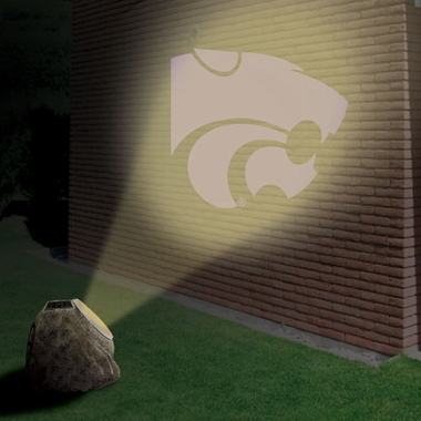 Kansas State Logo Projection Rock